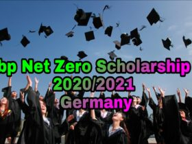 bp Net Zero Scholarship 2020/2021, Germany