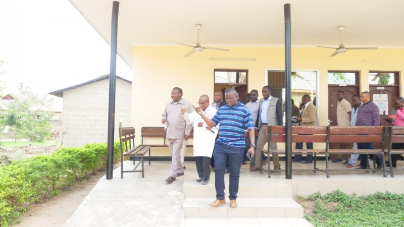 The Gvt is satisfied with Speed Bunju health center Construction