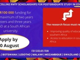 Canon Collins Trust RMTF Scholarships 2022 for Postgraduate Study in South Africa (Funded)